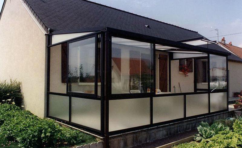 photos des r alisations de verandas j l en alu. Black Bedroom Furniture Sets. Home Design Ideas