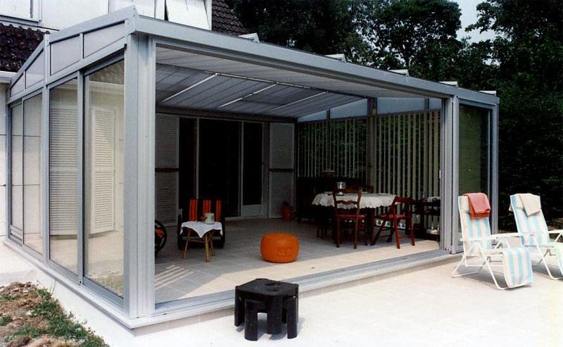 Photos des r alisations de verandas j l en alu - Veranda alu prix ...